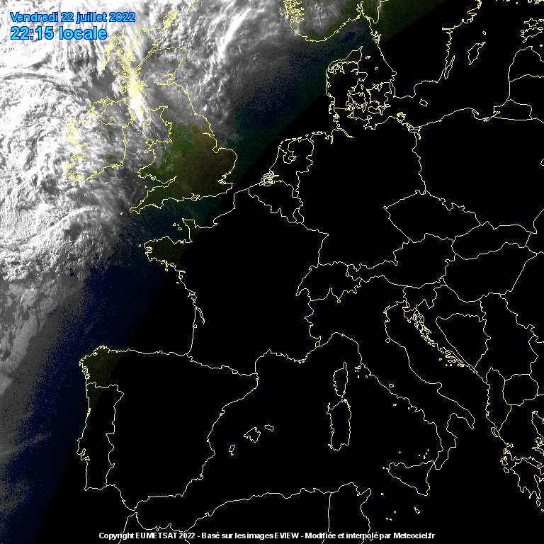 Satellite Italia Visibile (Diurno)
