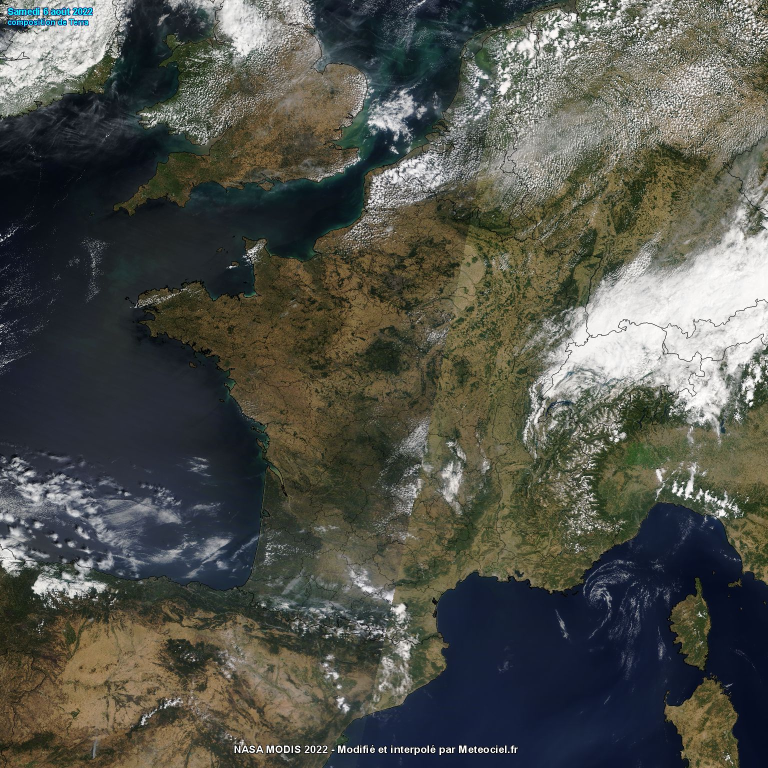 Image du satellite NOAA