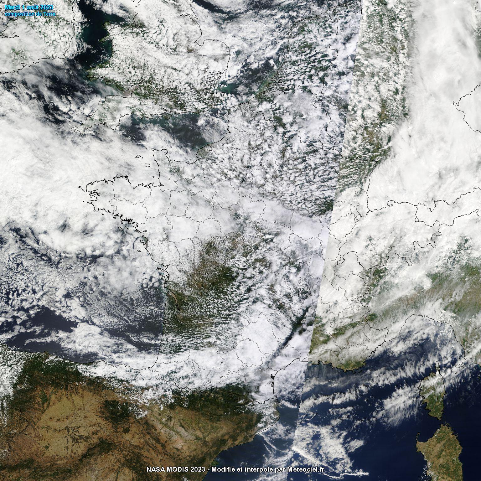 Image d'illustration pour Suivi des nuages en France